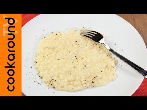 cacio e pepe, ma nel risotto