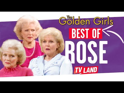 Betty White's Best Rose Nylund's Moments | The Golden Girls