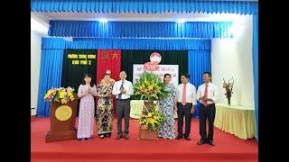 Ngày hội Đại đoàn kết toàn dân tộc khu 2, phường Trưng Vương