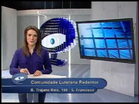 Primeira apresentação em estúdio - Boletim É-paraná Bárbara Passos 2012