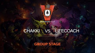 Chakki vs Lifecoach, game 1