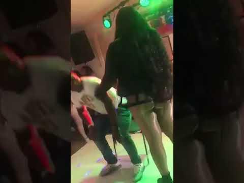 Jamaica man get f**k in club by dancehall female artist