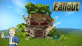 AMAZING MINECRAFT CREATION! Fallout Mask Base/Island Tutorial - EPIC BUILD