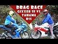 Drag Race Gixxer SF vs Yamaha  R15