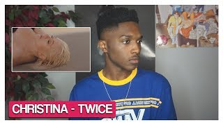 Christina Aguilera - Twice (REACTION) | Jayden Alexander