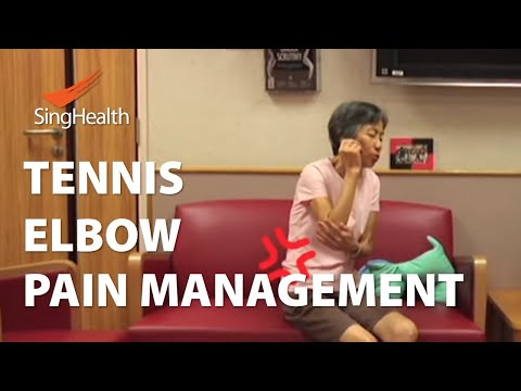 Physiotherapy Management of Tennis Elbow - SingHealth Healthy Living Series