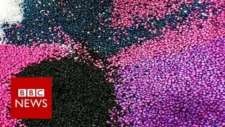 Can plastic roads help save the planet? BBC News BBC News