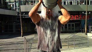 "Triple H takes the ""Ice Bucket Challenge"" - YouTube"