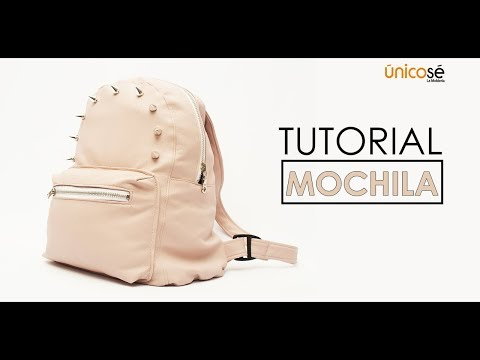 DIY Tutorial Costura: Mini Mochila Acc1712 (VIDEO COMPLETO)