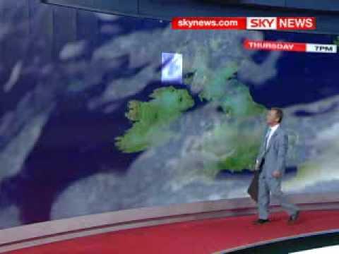 Sky Weather Man Watches East Anglia Fall