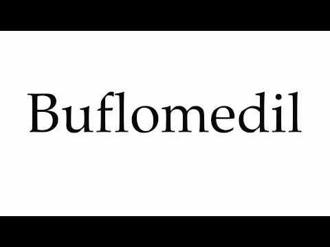 How to Pronounce Buflomedil
