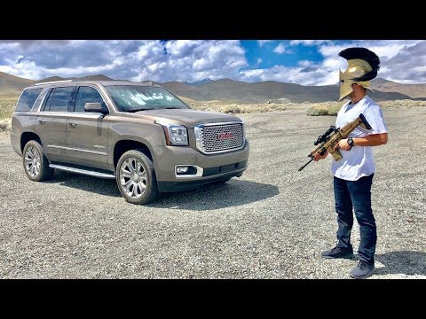 Fully Armored SUV Bulletproof GMC