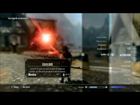 comment augmenter guerison skyrim