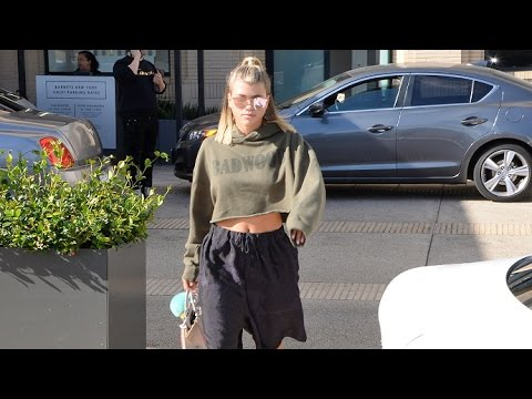 Sofia Richie Looks Like She's Taking Fashion Cues From 'Open Door' BF Justin Bieber