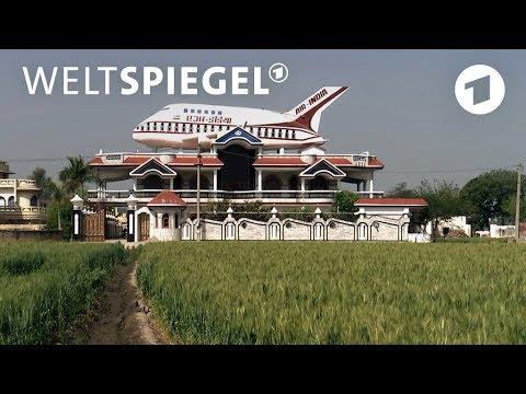 Indien: Warum stehen Flugzeuge auf Dächern? | Weltspi ...
