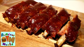 How to make slow cooked ribs in the oven? It's much simpler than you'd think! Spareribs are soooo delicious, especially when they're very tender and served ...