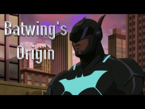 Batwing's Origin (Batman: Bad Blood)