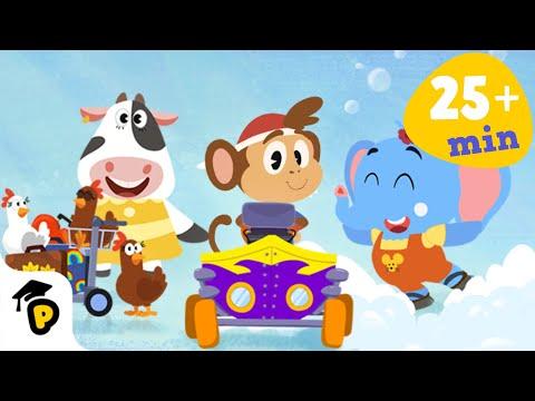 Dr. Panda TotoTime | Season 1 | Full Episodes 4,5,6 | Kids learning video