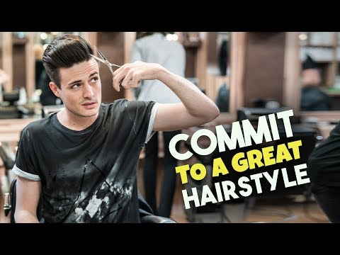 Mens hairstyles - How to Commit To An Awesome Hairstyle  Successfully Grow Out Your Hair!  BluMaan 2018