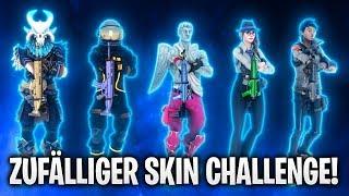 ZUFÄLLIGER SKIN CHALLENGE! 🏆 | Fortnite: Battle Royale