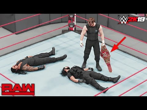 WWE 2K19 Custom Story - The Shield Implodes Again Raw 2018 ft. Strowman, Ziggler & More