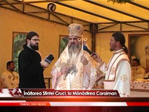 Înălţarea Sfintei Cruci, la Mănăstirea Caraiman – VIDEO