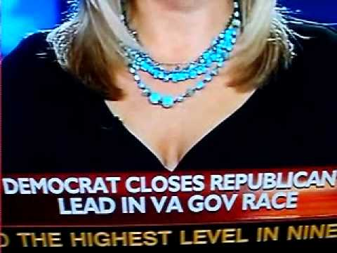 Fox News Reporter Shannon Bream Flexes Her BOOBS In the Middle of a News Report ...