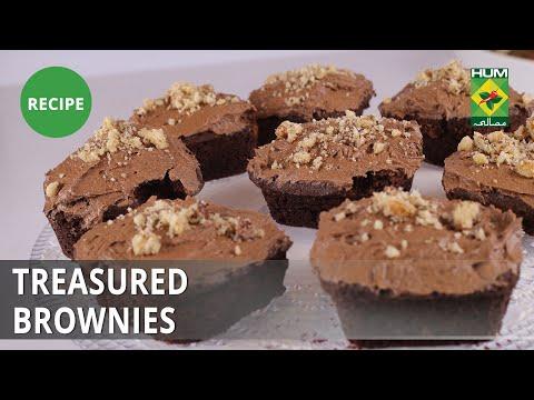 Treasured Brownies Recipe | Masala Mornings |  Shireen Anwar | Dessert