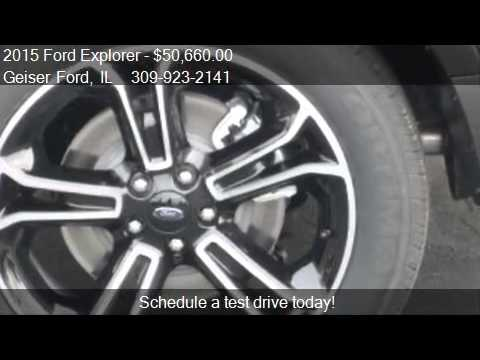 2015 Ford Explorer Sport 4x4 4dr SUV for sale in Roanoke, IL
