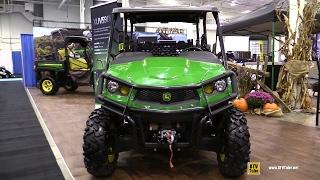 8. 2017 John Deere Gator XUV 590i S4 Utility ATV - Walkaround - 2016 Toronto ATV Show