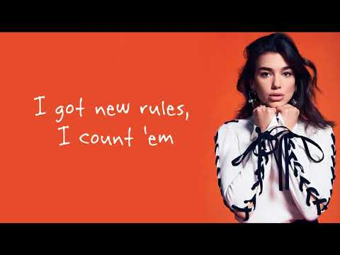 Video Dua Lipa - New Rules / Lyrics download in MP3, 3GP, MP4, WEBM, AVI, FLV January 2017