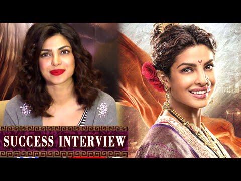 Priyanka Chopra REACTS On The Success of Bajirao M