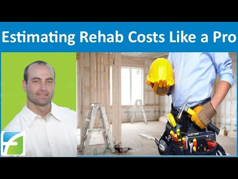 Estimating Rehab Costs Like a Pro