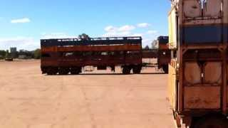 Longreach Australia  city pictures gallery : Yard tour of Road Trains of Australia Longreach