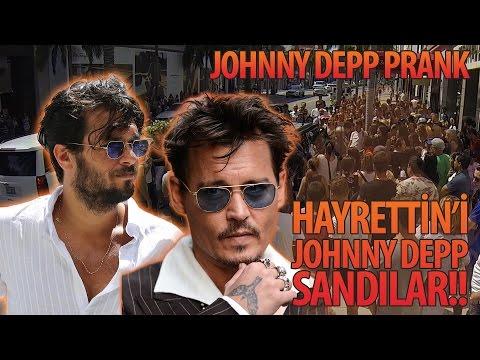 Hayrettin'den Efsane Johnny Depp Şakası