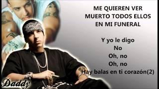 Daddy Yankee videoklipp No Te Canses, el Funeral (feat. Julio Voltio) (Lyric Video)