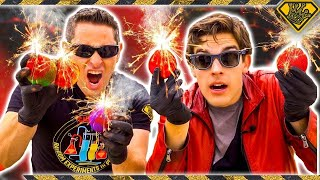 "Subscribe to The Game Theorists: https://goo.gl/n3bXctWatch this: Pokemon Fire Swirl: https://goo.gl/QprKmtMatPat and The King of Random put UNDERWATER FIREBALLS to the test, with a batch of homemade thermite grenades FTW!Subscribe & ""Ring the Bell"": https://goo.gl/618xWmThermite grade Red iron oxide (rust powder): http://amzn.to/2cFxUpIThermite grade aluminum powder: http://amzn.to/2cFyzrkColored Tennis Balls: http://amzn.to/2sVHV8LSee What Else I'm Up To:Instagram: https://goo.gl/C0Q1YUFacebook: https://goo.gl/EWo7S7Pinterest: https://goo.gl/Gbffq4Business Inquiries: For sponsorship requests or business opportunities please contact me directly: https://goo.gl/4Yiy43Music by: Niklas Gustavsson - ""Raw Punks 1""Royalty Free Music from Epidemic Sound: https://goo.gl/jlJWJOWARNING:This video is only for entertainment purposes. If you rely on the information portrayed in this video, you assume the responsibility for the results. Have fun, but always think ahead, and remember that every project you try is at YOUR OWN RISK.✌️👑  RANDOM NATION: TRANSLATE this video and you'll GET CREDIT! Click Here: https://goo.gl/euAPTPWant credit TRANSLATING other videos? Click Here to see where else you can contribute: https://goo.gl/DmpwbqTHANK YOU!! ✌️👑"