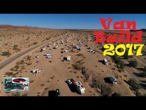 Aerial Views & Cool Gadgets @ The Van Build 2017