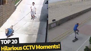 Video 20 Hilarious Moments Caught on Security Cameras MP3, 3GP, MP4, WEBM, AVI, FLV Agustus 2019