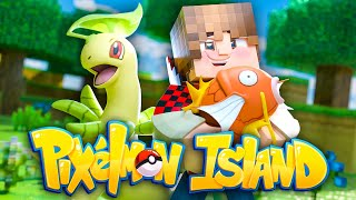 Minecraft Pixelmon Island UHC #1 - NEW ADVENTURE