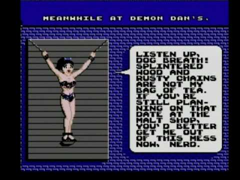 menace beach nes girl