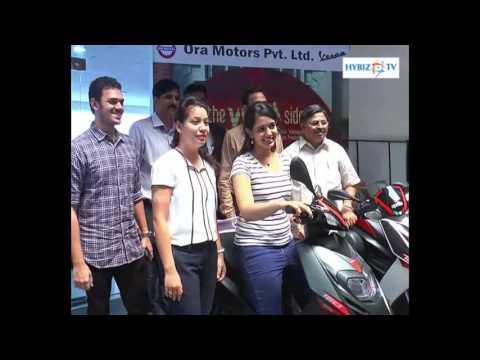 , Aprilia SR 150 Launched in Ora Motors Vizag