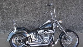 8. 2005 Harley-Davidson Softail Standard FXSTI For Sale