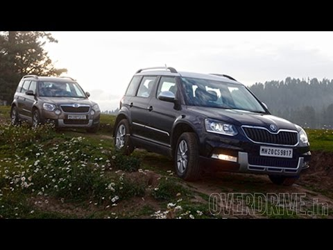 2014 Skoda Yeti 4×2 / 4×4 – First Drive Review (India)