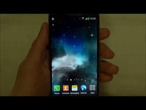 Video of Galaxy 3D Parallax Lite