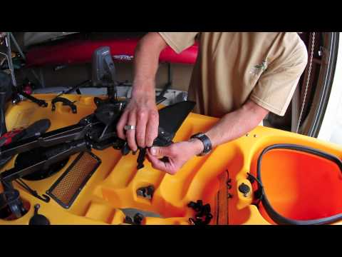 Installing a Hobie Mirage Drive Leash Kit