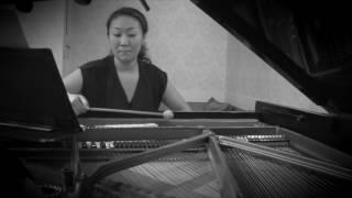 現代曲のピアノレコーディング