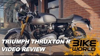 2. 2016 Triumph Thruxton R Review Exclusive (First Ride)