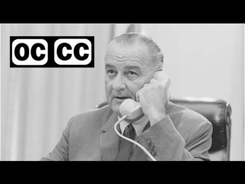 1964, LBJ - Poverty - political ad - closed captioned
