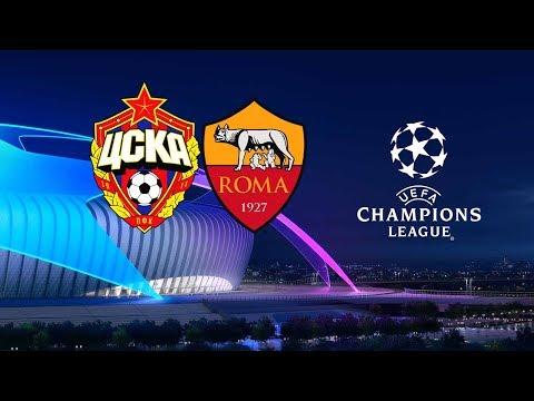PES 2019 - CSKA MOSKVA VS ROMA - UEFA Champions League 2018 - 19 - All Goals HD Highlights